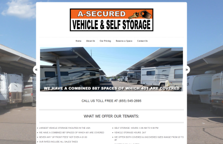 A-Secured Vehicle Storage Arizona - HomeA-Secured Storage _ Vehicle and Self Storge_1352154809727